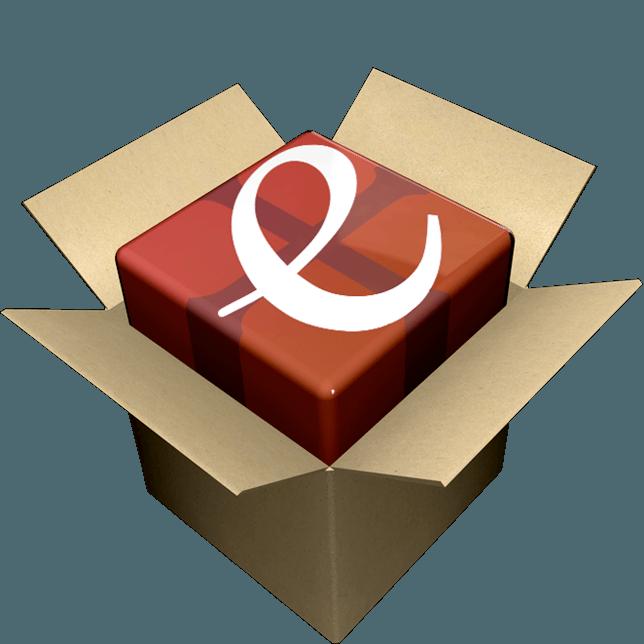 Logo icona installer Edictum+ il Software per la stampa dei manifesti funebri lutto