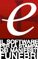 Edictum+ logo il software per la stampa dei manifesti funebri