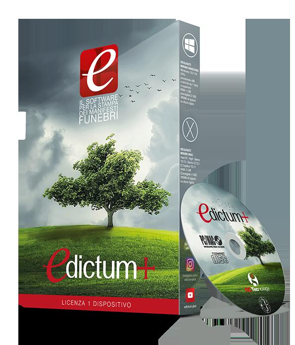 Edictum box scatola DVD